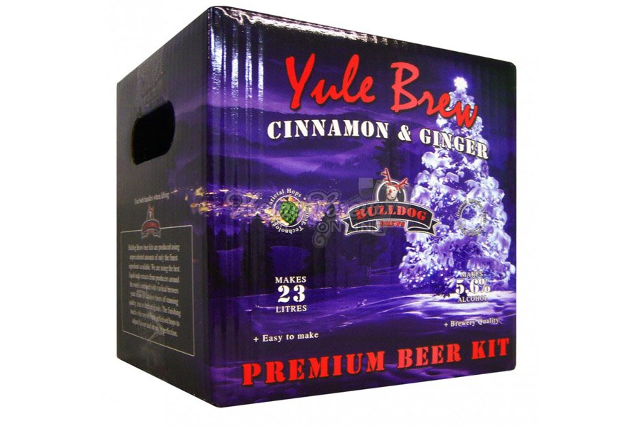 Купить Bulldog Yule Brew Cinnamon & Ginger 3,8 кг в Воронеже