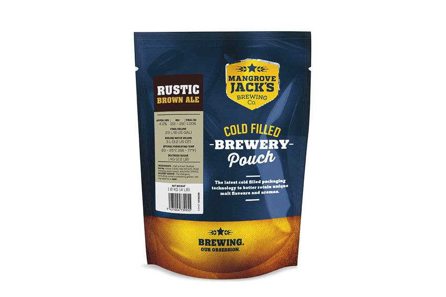 Купить Mangrove Jack's Traditional Series Brown Ale Pouch (1,8 кг) в Воронеже