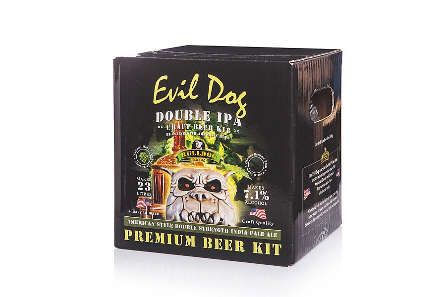 Купить Bulldog  Evil Dog American Double IPA 4,7кг в Воронеже