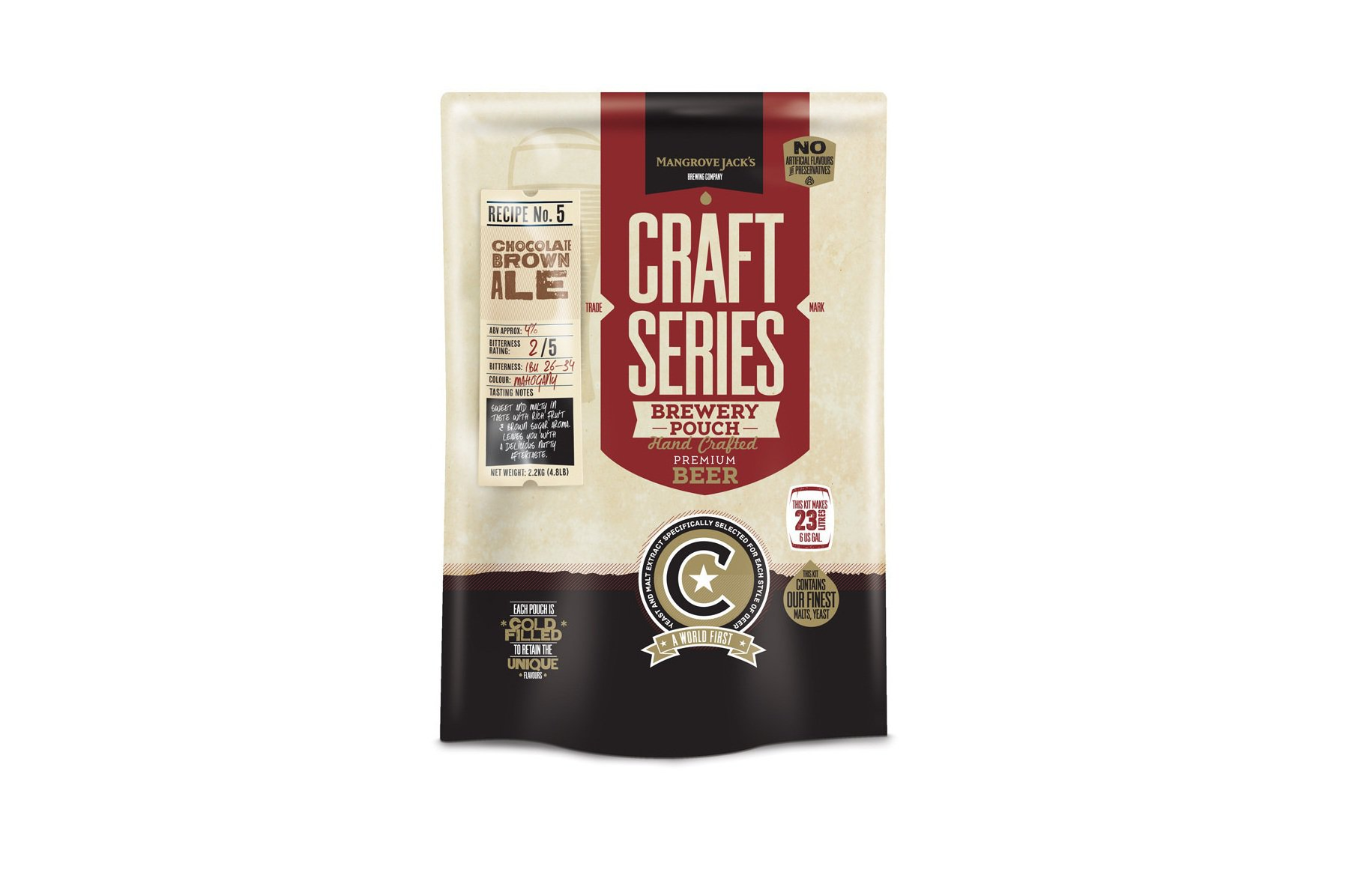 Купить Mangrove Jack's Craft Series Choc Brown Ale Pouch 2,2 кг в Воронеже