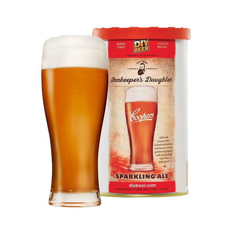 Купить Coopers Innkeepers Daughter Sparkling Ale 1,7 кг в Воронеже