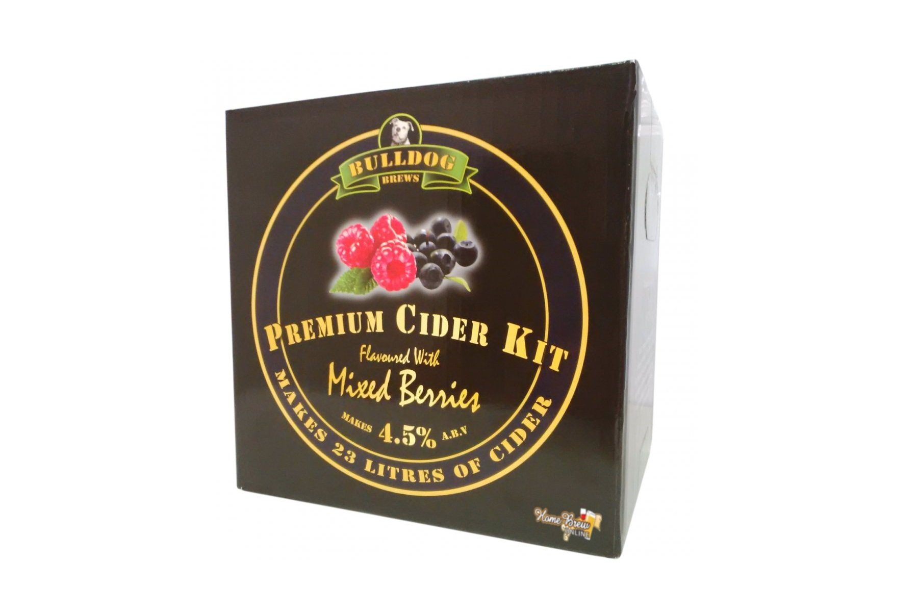 Купить Bulldog Mixed Berries Flavoured Cider 3 кг в Воронеже