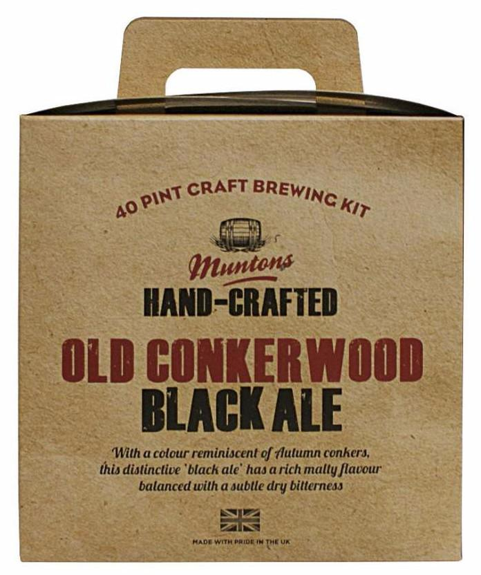Купить Muntons Old Conkerwood Black Ale 3,6 кг в Воронеже