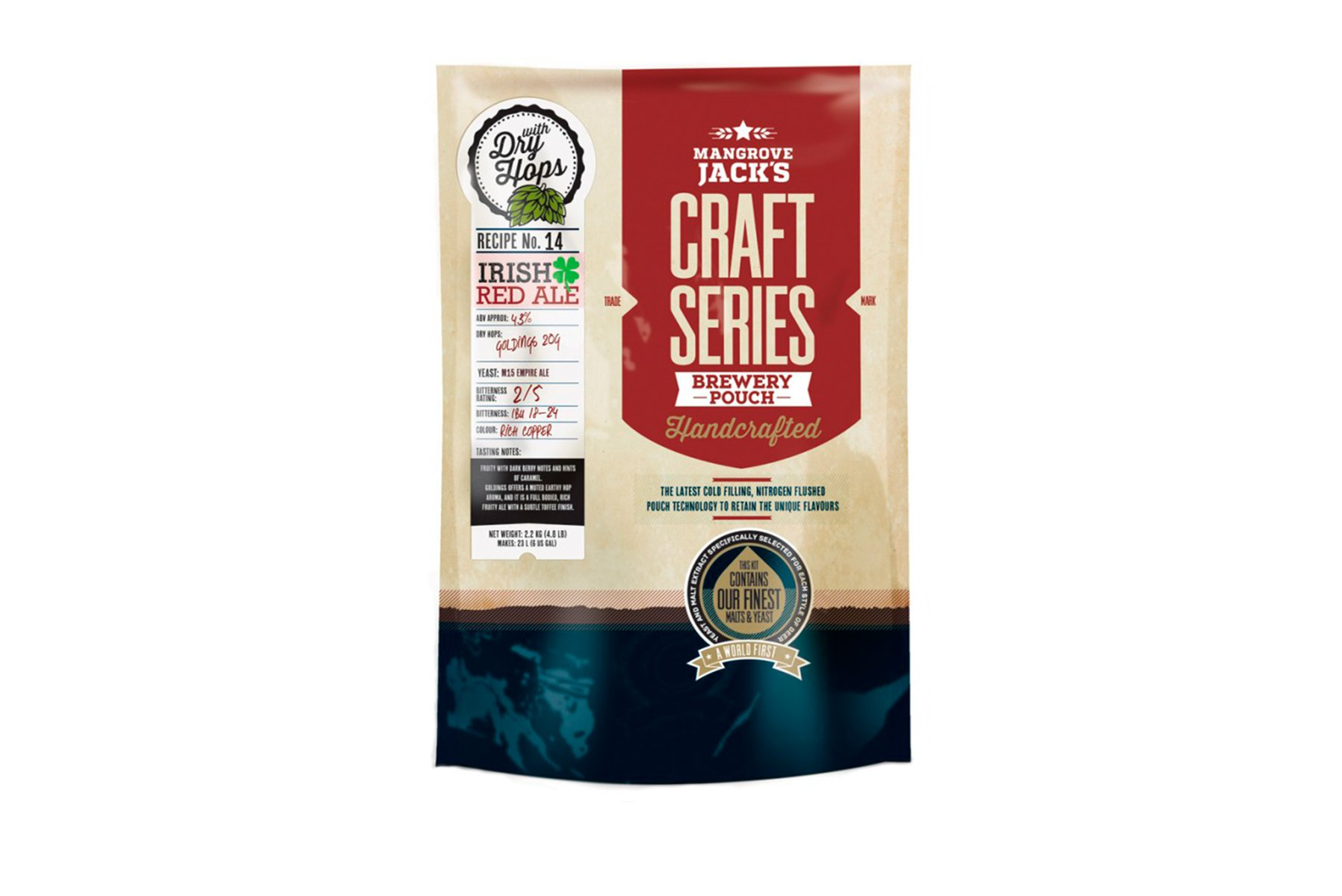 Купить Mangrove Jack's Craft Series Irish Red Ale 2,2 кг в Воронеже