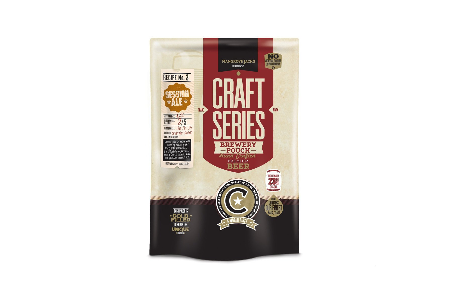 Купить Mangrove Jack's Craft Series Session Ale Pouch (1,8 кг) в Воронеже